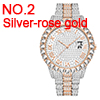 NO.2 Silver-rose gold